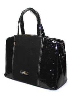 Ефектна дамска чанта в черно Sara Pen