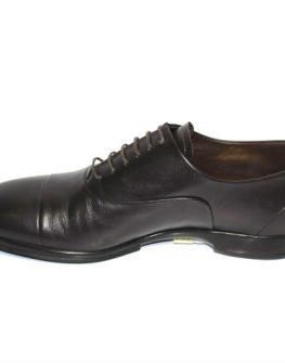 Тъмнокафяви стилни мъжки обувки Sara Pen