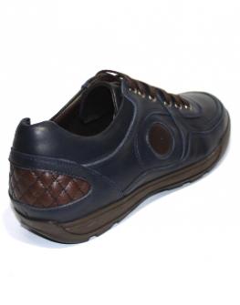 Спортни мъжки обувки Sara Pen в синьо и кафяво