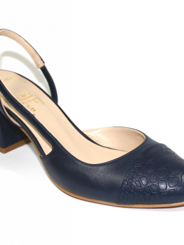Дамски сандали от естествена кожа Sara Pen
