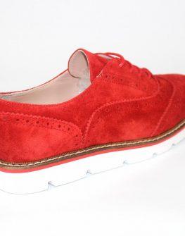 Дамски обувки Sara Pen в червено