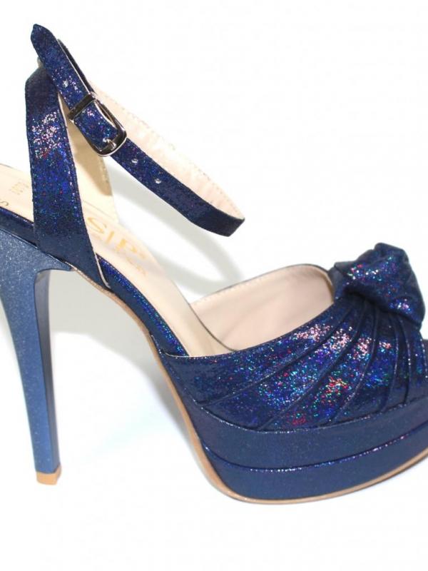 Ефектни дамски сандали на висок ток Sara Pen