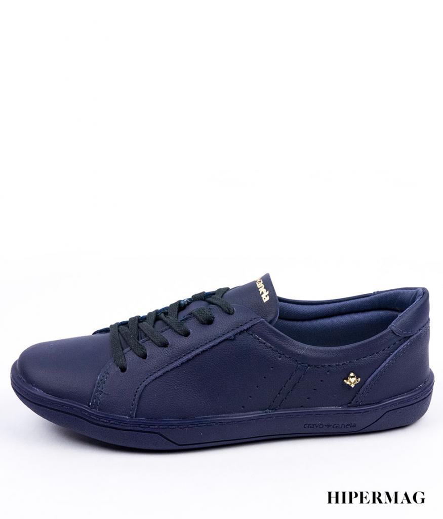 Тъмносини дамски обувки Cravo&Canela