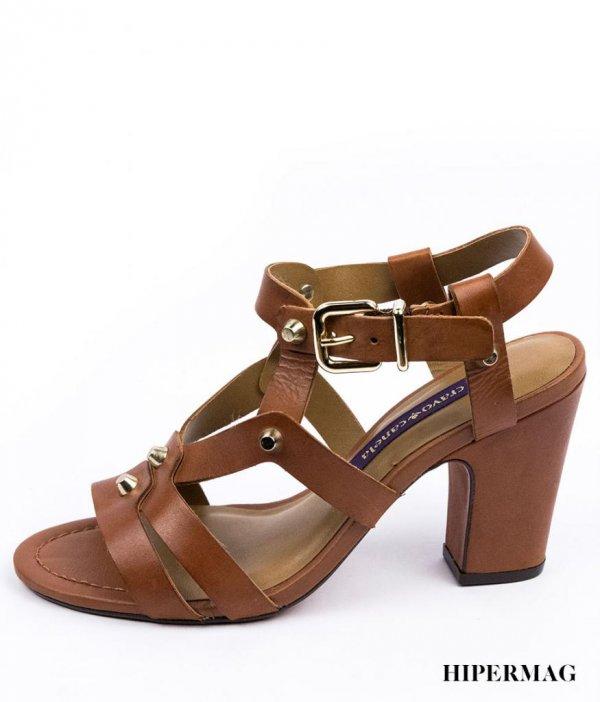 Дамски сандали от естествена кожа Cravo&Canela