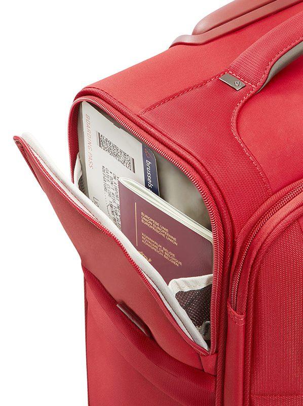 Куфар Uplite в червено