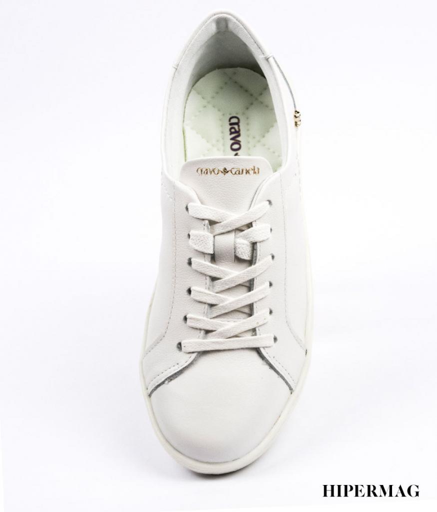 Бели дамски обувки Cravo&Canela