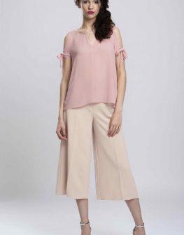 Елегантен дамски панталон в бежово Pulse