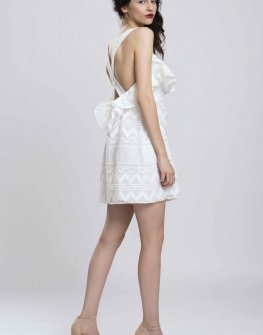 Дизайнерска дантелена рокля Pulse