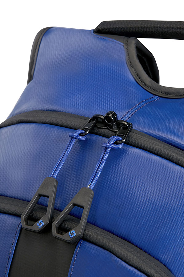 Синя раница Samsonite за лаптоп