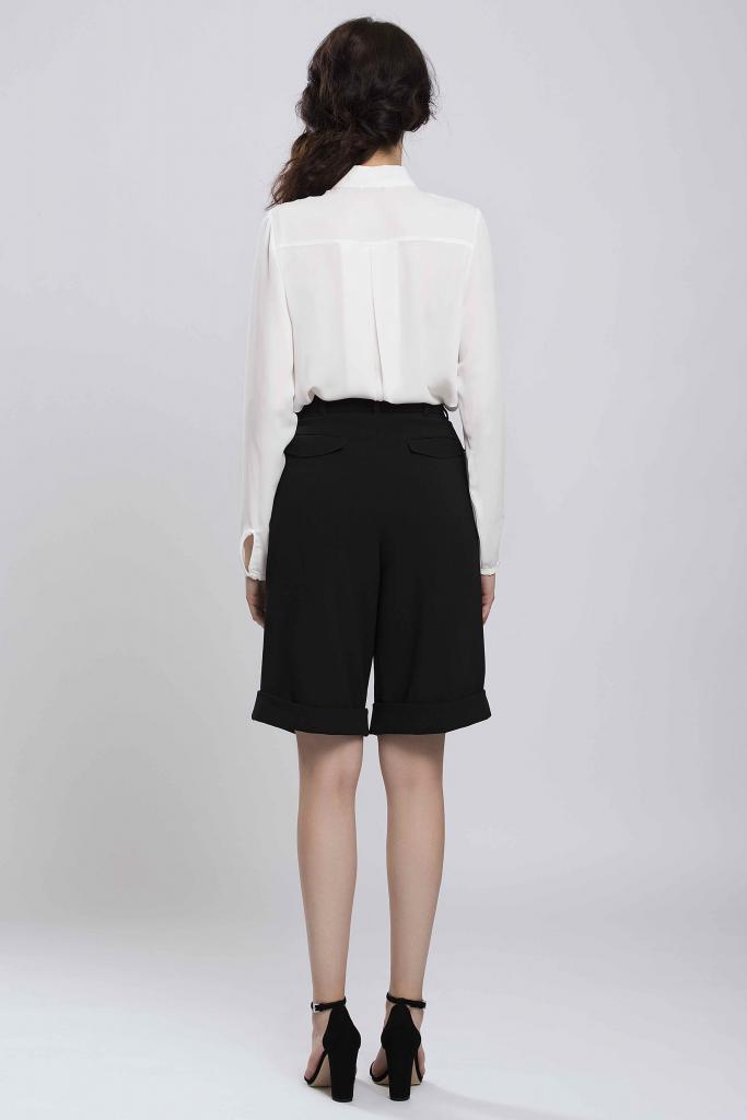 Стилни дамски панталони Pulse в черно