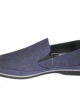 Мъжки обувки Sara Pen в синьо без връзки