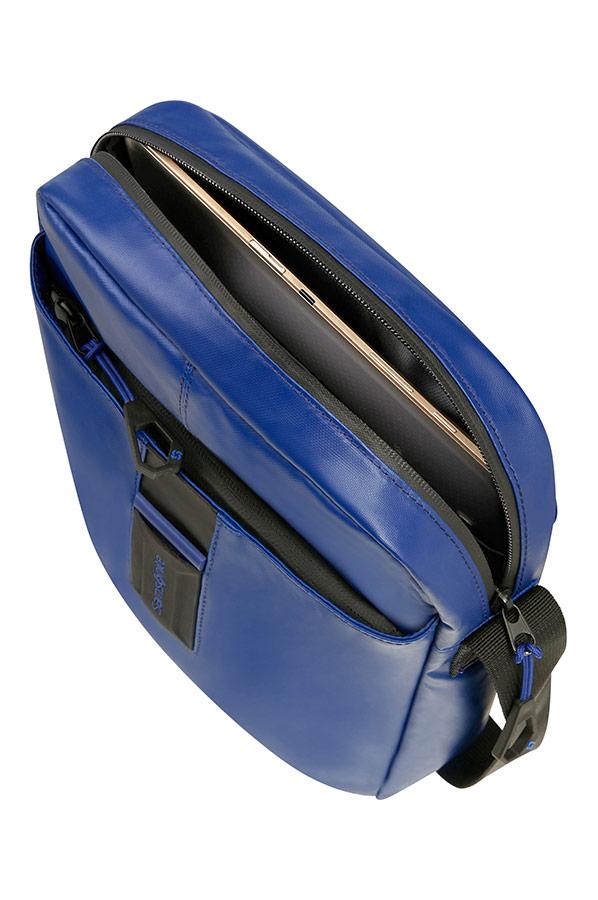 Чанта за рамо Samsonite в синьо