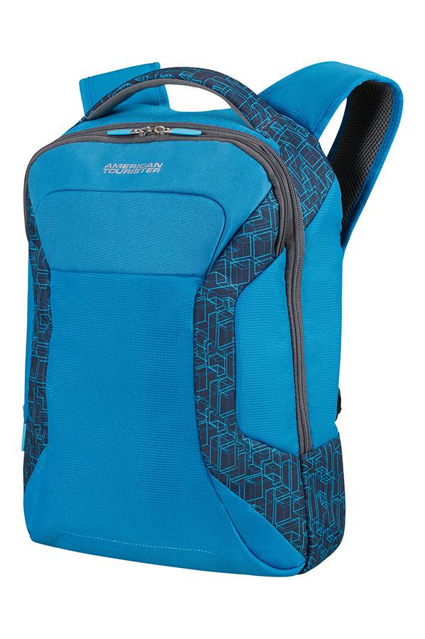 Синя раница за лаптоп American tourister