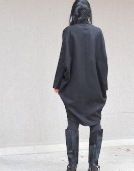 Дизайнерско макси палто Kotyto