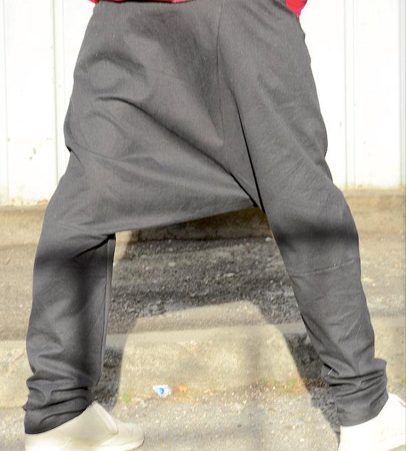 Черен макси панталон Kotyto