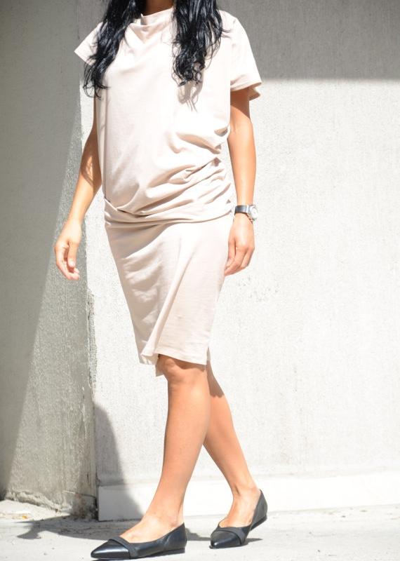 Макси рокля в бежово Kotyto