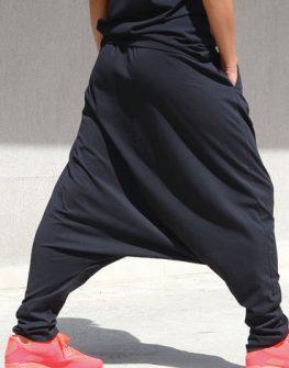 Макси панталон в черно Kotyto