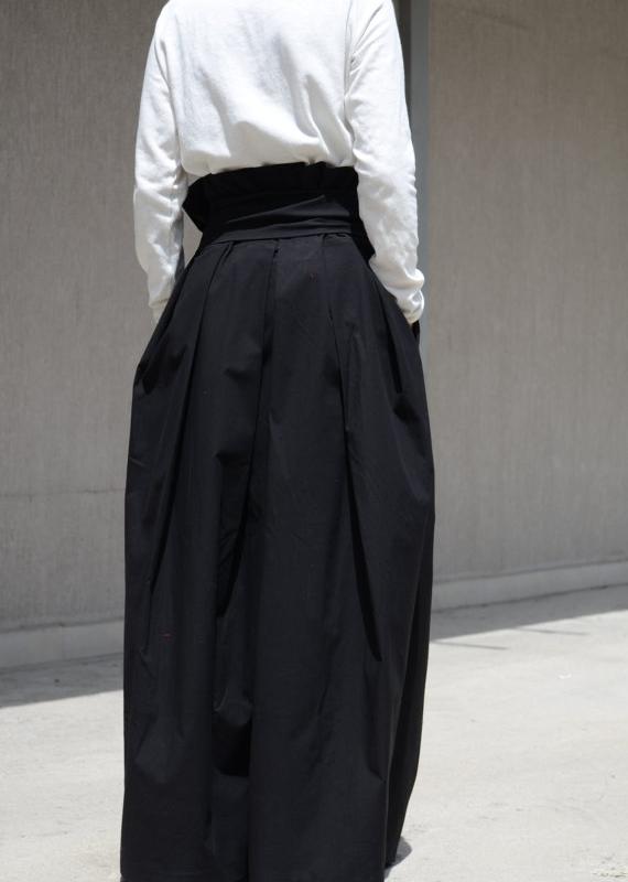 Макси пола Kotyto в черно