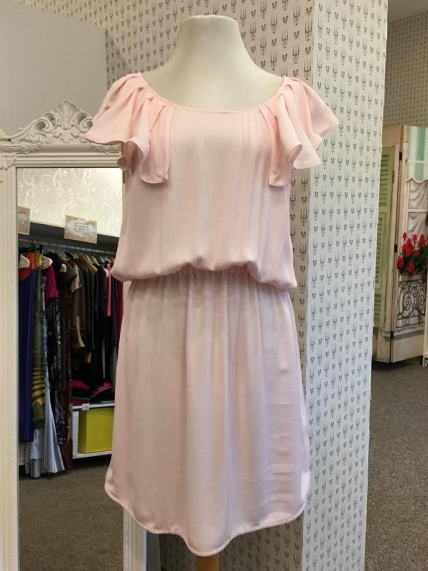 Бледорозова рокля Aggata