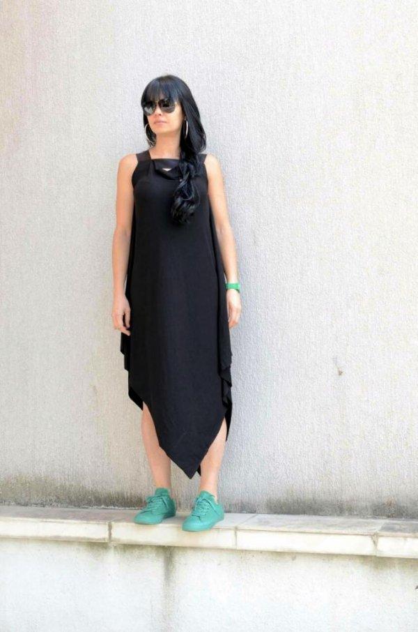 Бутикова черна рокля Kotyto