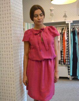 Стилна рокля в макси размери Aggata