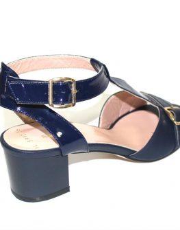 Дамски сандали Sara Pen в тъмносиньо