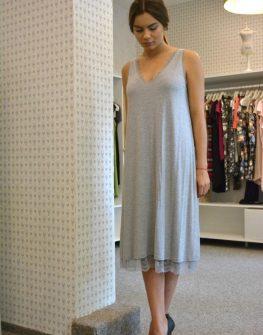 Сива рокля Aggata