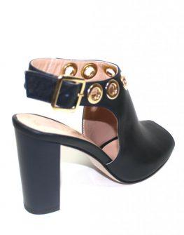 Дамски сандали в тъмносиньо Sara Pen
