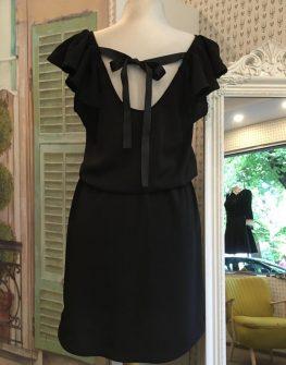 Черна рокля Aggata