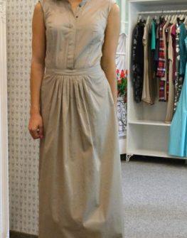 Дълга рокля в макси размери Aggata