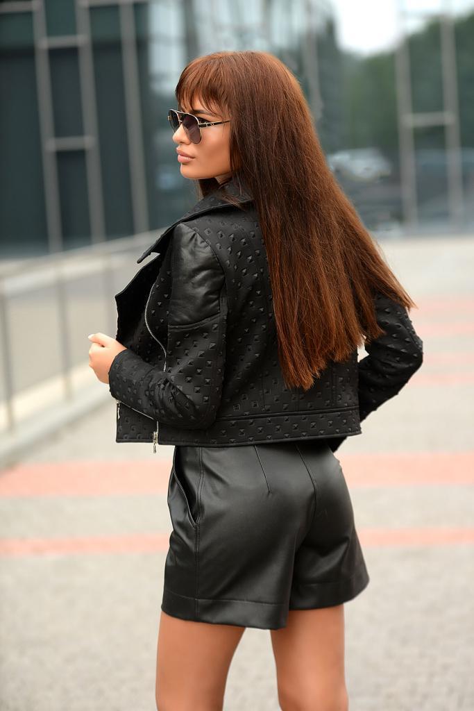Кожен дамски панталон DPmoda