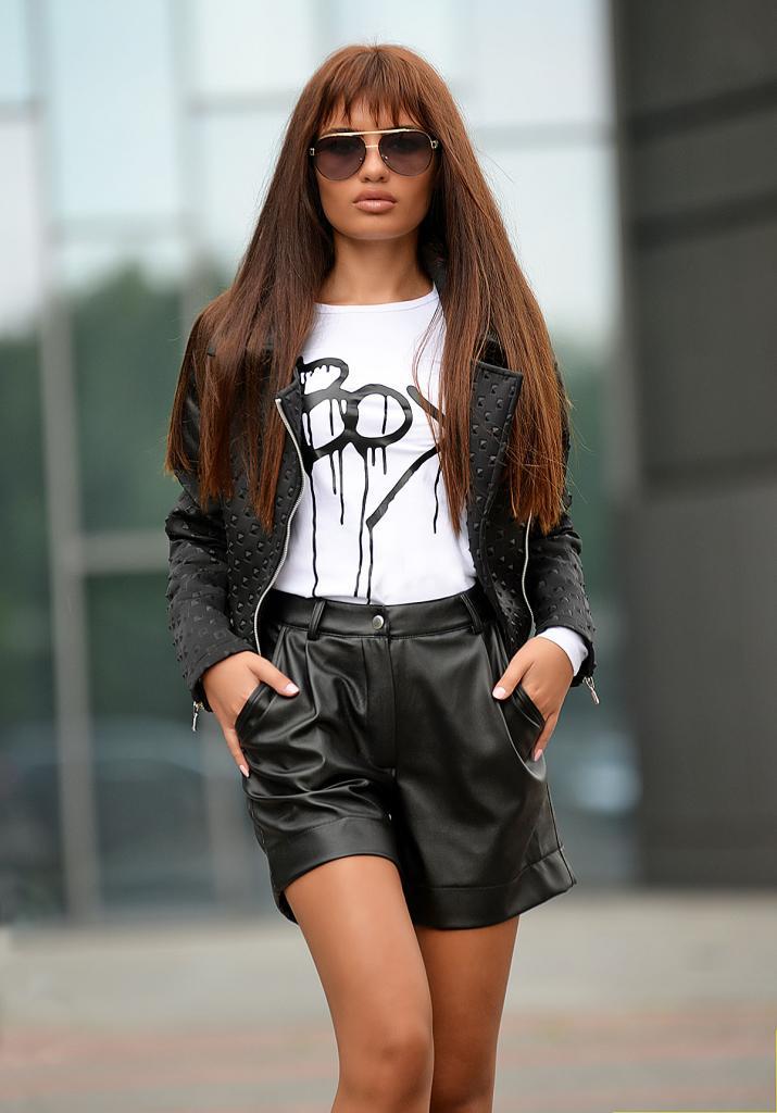 Дамска блуза с щампа DPmoda