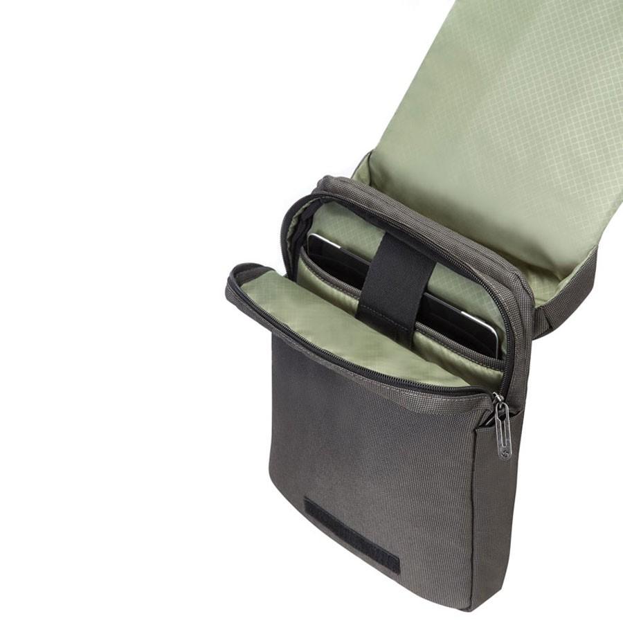 Сива чанта за рамо Samsonite