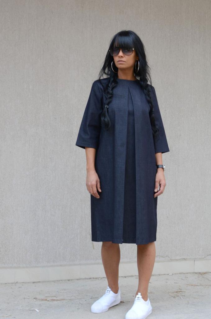 Дънкова рокля Kotyto