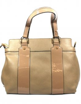 Бежова дамска чанта Sara Pen