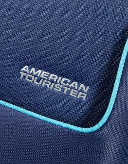 Куфар на 4 колела в тъмносиньо American tourister