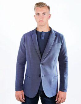 Ефектно мъжко сако в синьо Styler