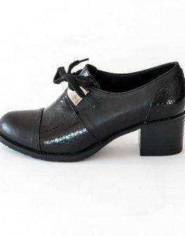 Кожени дамски обувки Balis на ток