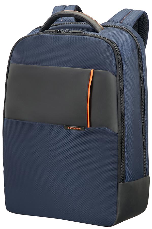 Компютърна раница в синьо Samsonite Qibyte