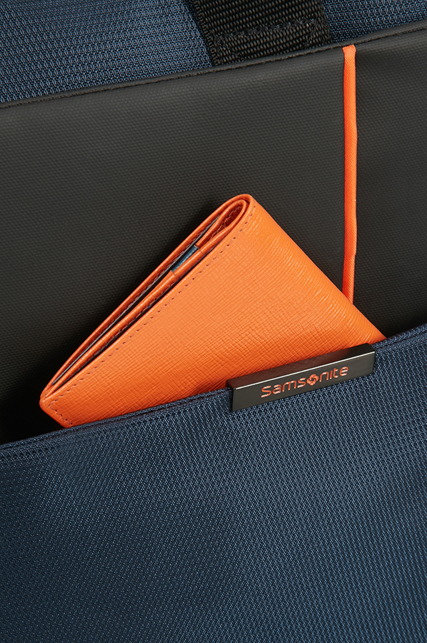 Чанта за лаптоп Samsonite Qibyte в синьо