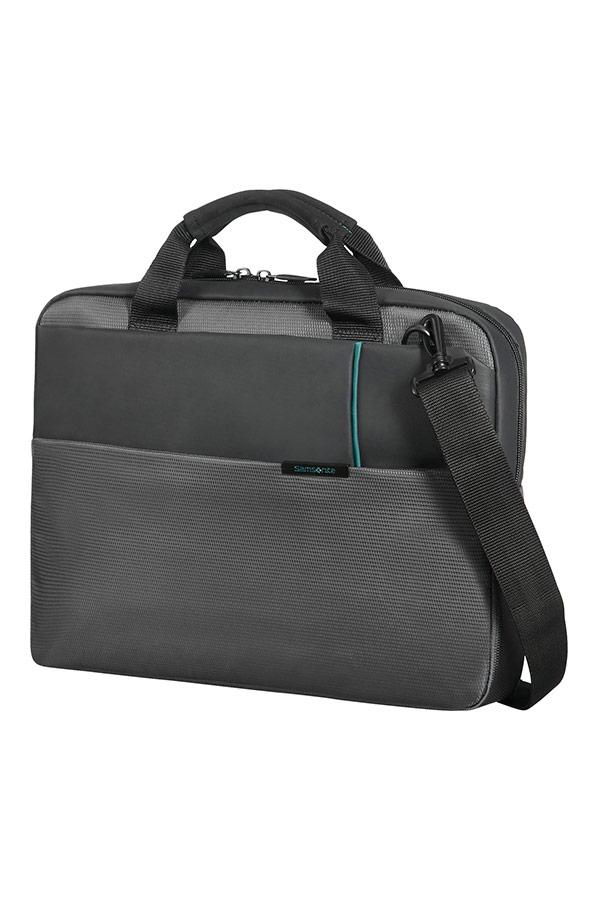 Сива чанта за лаптоп Qibyte
