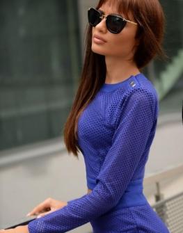 Дизайнерски сет - пола и блуза DPmoda