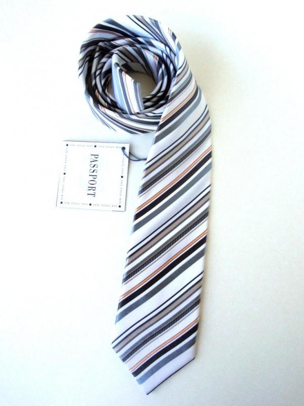 Мъжка вратовръзка в райе New Style