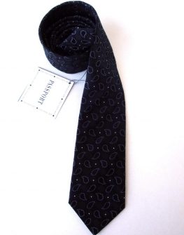 Мъжка вратовръзка в черно New Style