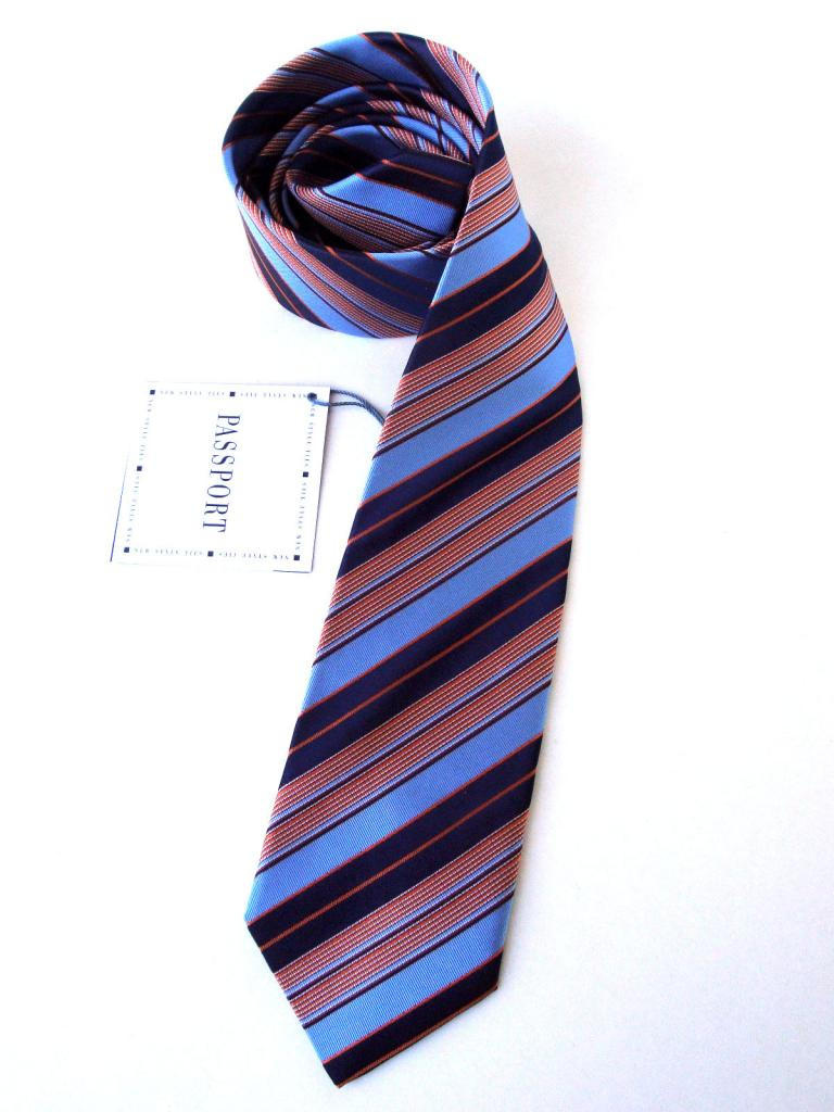 Вратовръзка в синьо и червено New Style