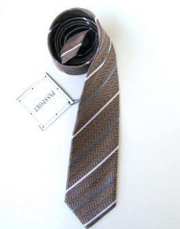 Мъжка вратовръзка в кафяво New Style