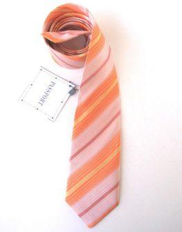 Мъжка вратовръзка в оранжево New Style