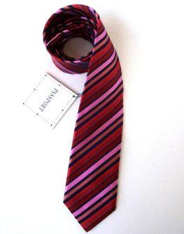 Мъжка вратовръзка в червено и розово New Style