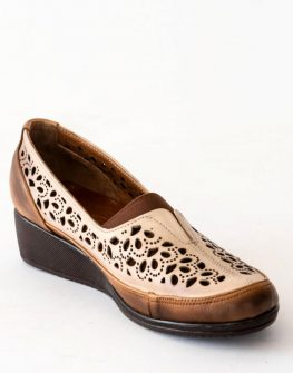 Обувки с декоративна перфорация Balis