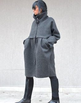 Дизайнерско палто Kotyto ПРОМО ЦЕНА